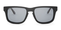 swatch for RILEY - BLACK FRAME - POLARIZED GREY LENS