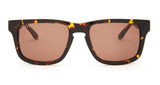 RILEY - TORTOISE FRAME - BROWN LENS - DIFF Eyewear  - 1