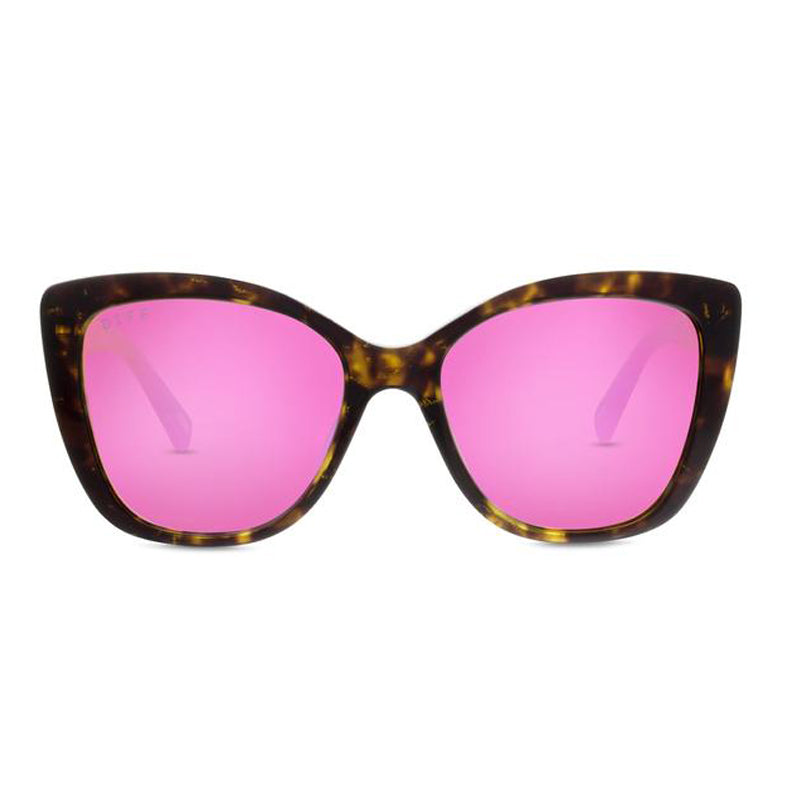 ruby tortoise pink mirror front