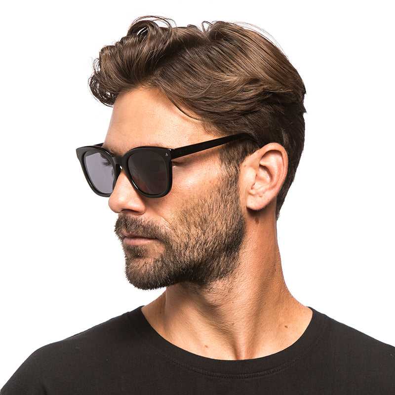 RYDER - BLACK + DARK SMOKE + POLARIZED
