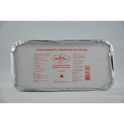 Sharonelle - Paraffin Wax - Peach 2lb