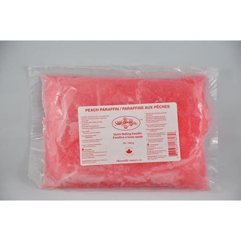 Sharonelle - Paraffin Wax - Peach 1lb
