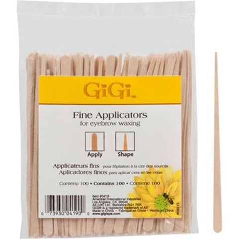 GiGi - Fine Wax Applicators - 100 Pack