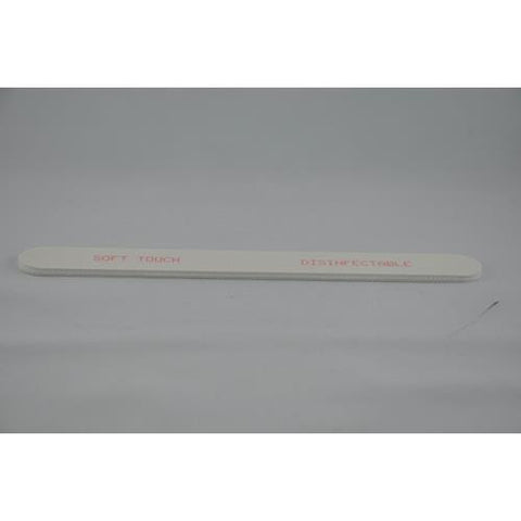 Soft Touch - White File 100/180 - 10 Pack
