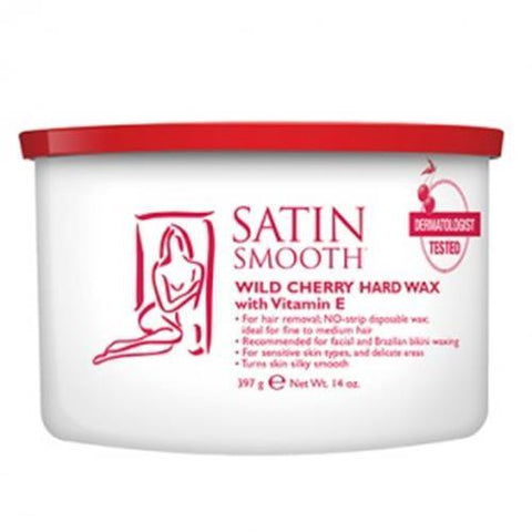 Satin Smooth - Hard Wax Wild Cherry - 14oz