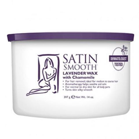 Satin Smooth - Soft Wax Lavender - 14oz