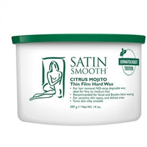 Satin Smooth - Soft Wax Citrus Mojito - 14oz