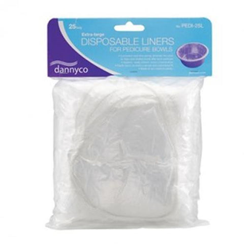 Dannyco - Disposable Pedi Liners - 25 Pack