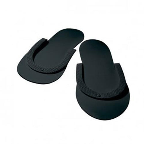 Dannyco - Pedi Slippers Black - 12 Pack
