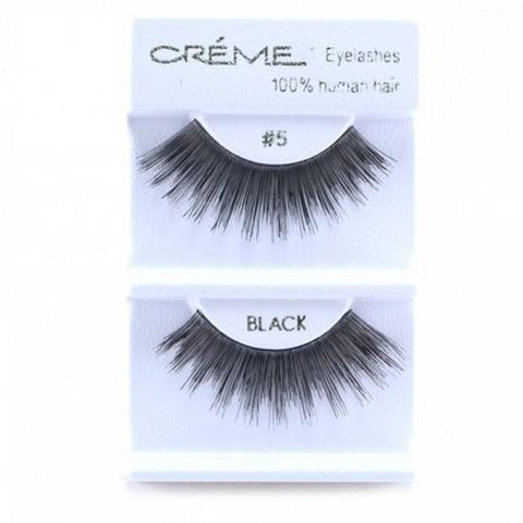 Creme Strip Lashes - #5 - 1 Pair