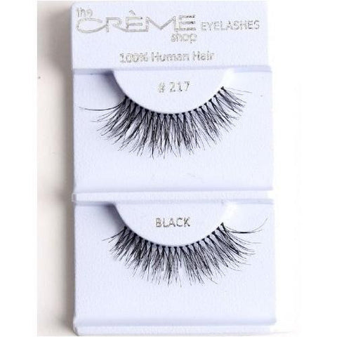 Creme Strip Lashes - #217 - 1 Pair