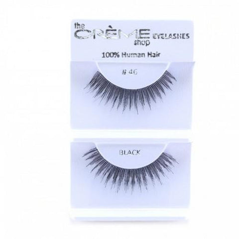 Creme Strip Lashes - #46 - 1 Pair