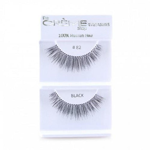 Creme Strip Lashes - #82 - 1 Pair