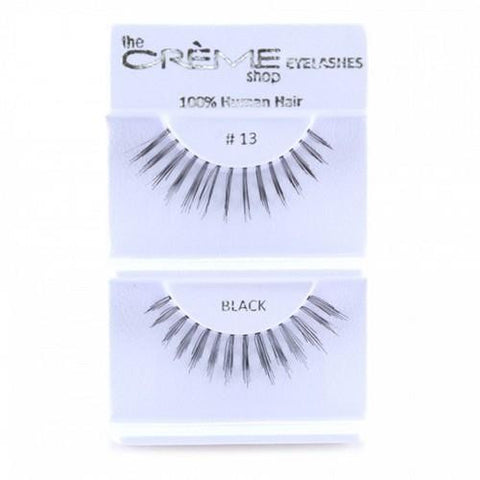 Creme Strip Lashes - #13 - 1 Pair