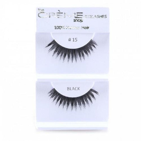 Creme Strip Lashes - #15 - 1 Pair