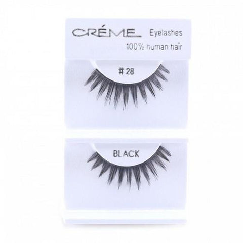 Creme Strip Lashes - #28 - 1 Pair