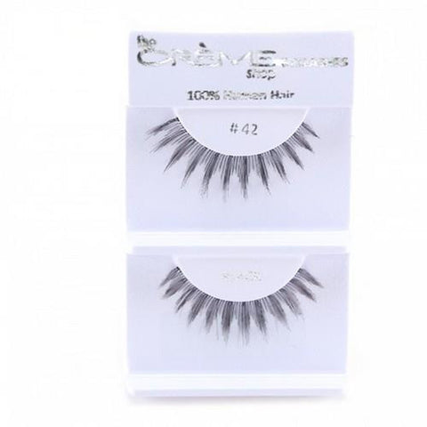 Creme Strip Lashes - #42 - 1 Pair