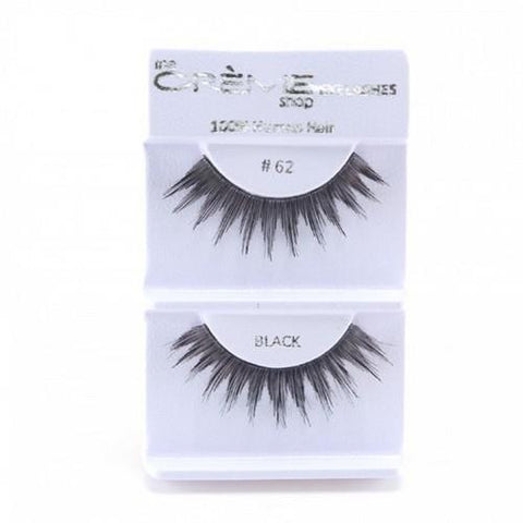 Creme Strip Lashes - #62 - 1 Pair