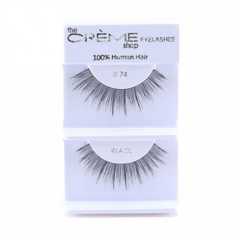 Creme Strip Lashes - #74 - 1 Pair