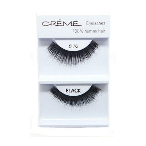Creme Strip Lashes - #76 - 1 Pair