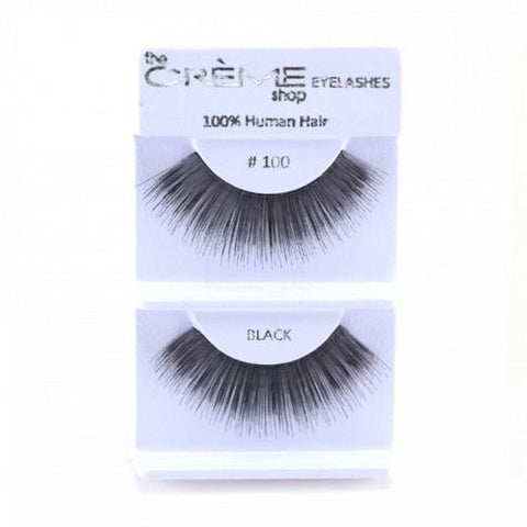Creme Strip Lashes - #100 - 1 Pair
