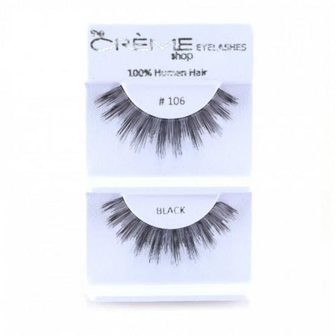Creme Strip Lashes - #106 - 1 Pair
