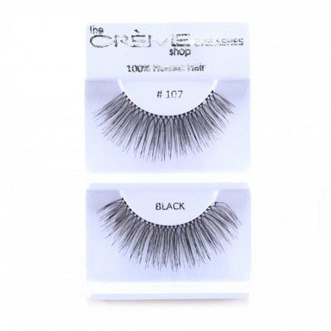 Creme Strip Lashes - #107 - 1 Pair