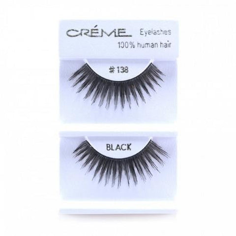 Creme Strip Lashes - #138 - 1 Pair
