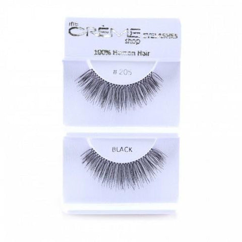Creme Strip Lashes - #205 - 1 Pair