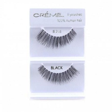 Creme Strip Lashes - #218 - 1 Pair