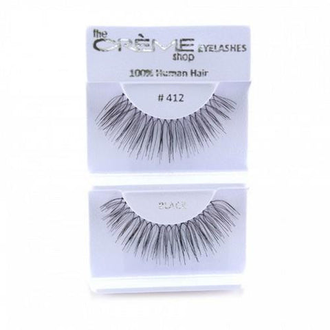 Creme Strip Lashes - #412 - 1 Pair