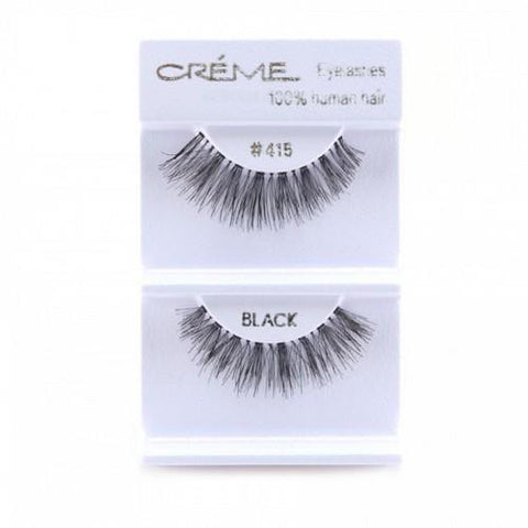 Creme Strip Lashes - #415 - 1 Pair