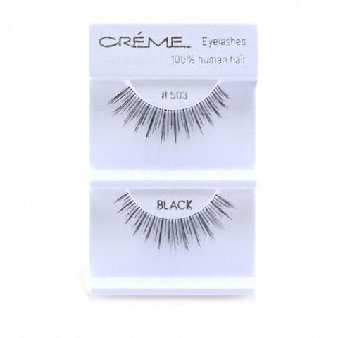 Creme Strip Lashes - #503 - 1 Pair