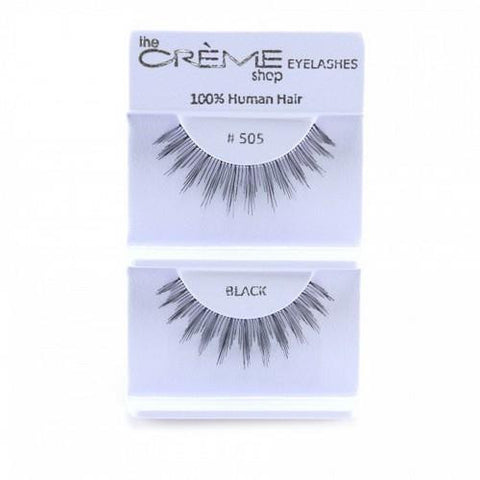 Creme Strip Lashes - #505 - 1 Pair