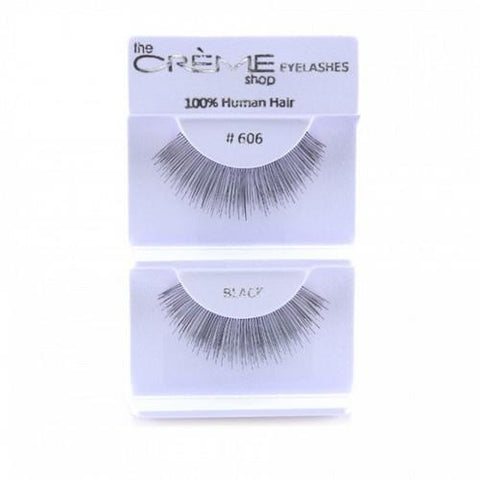Creme Strip Lashes - #606 - 1 Pair