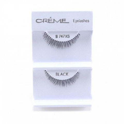 Creme Strip Lashes - #747XS - 1 Pair