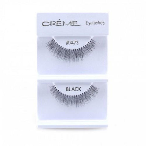 Creme Strip Lashes - #747S - 1 Pair