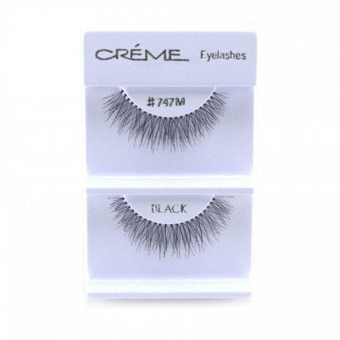 Creme Strip Lashes - #747M - 1 Pair