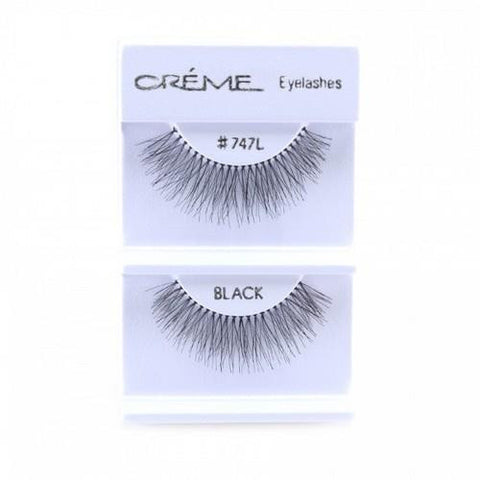 Creme Strip Lashes - #747L - 1 Pair