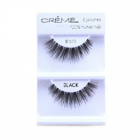 Creme Strip Lashes - #523 - 1 Pair