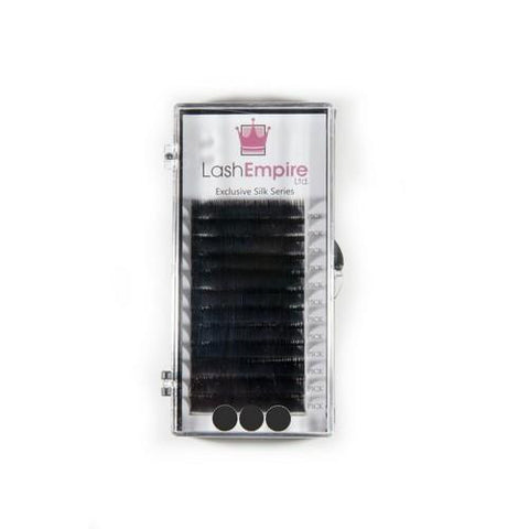 Lash Empire - Silk Lash Extensions - D-Curl .10 X 9mm