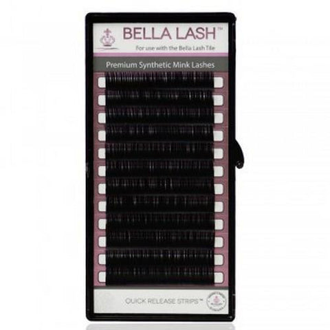 Bella - Lash Extensions Feathered C-Curl Mink - 0.10 Mixed (8-15mm)