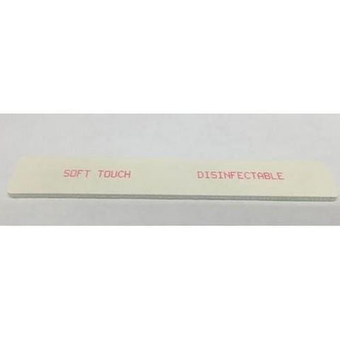 Soft Touch - Square White File 100/180 - 10 Pack