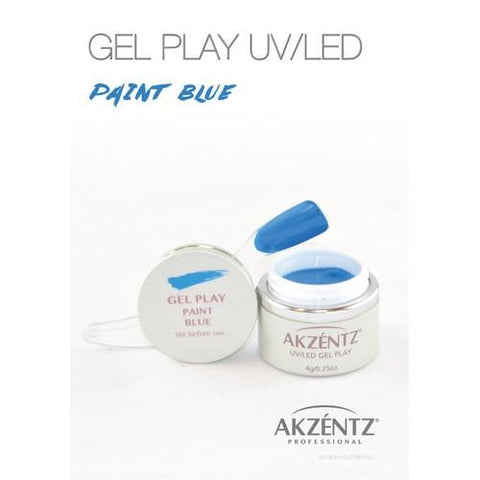 Akzentz - Gel Play Blue - 4g