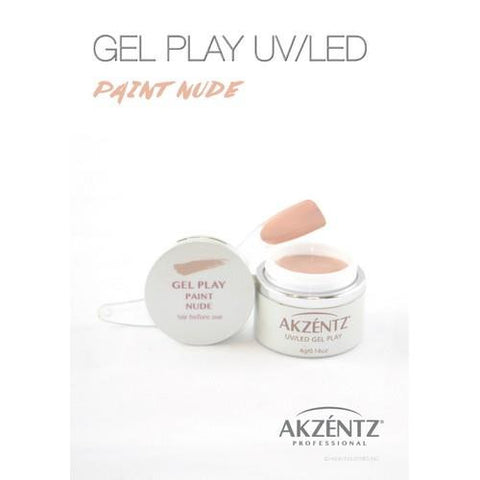 Akzentz - Gel Play Nude - 4g
