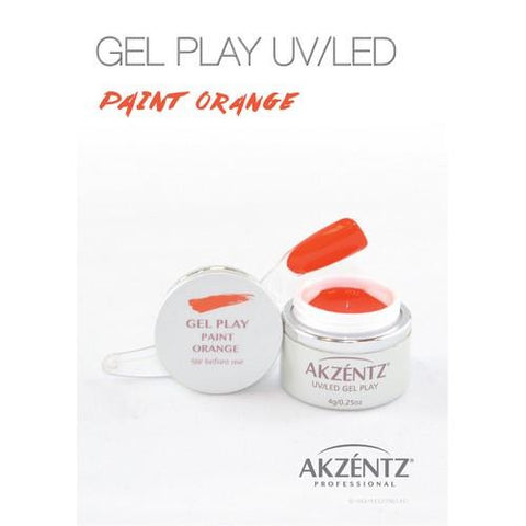Akzentz - Gel Play Orange - 4g