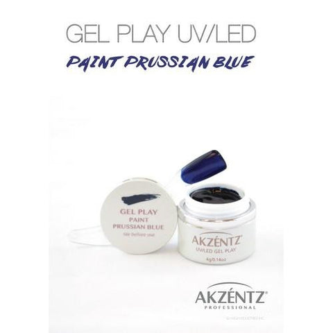 Akzentz - Gel Play Prussion Blue - 4g