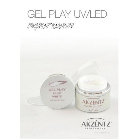 Akzentz - Gel Play White - 4g