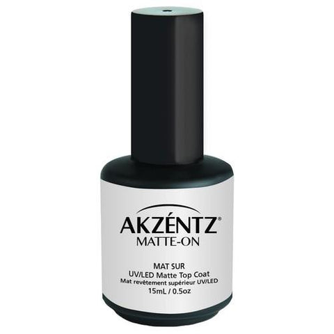 Akzentz - Matte On Top Coat - 15ml
