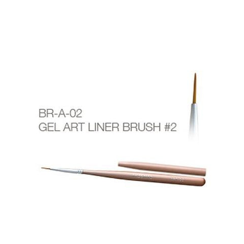 Akzentz - Gel Art Liner Brush - #02